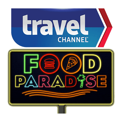 The Travel Channel's Food Paradise show logo