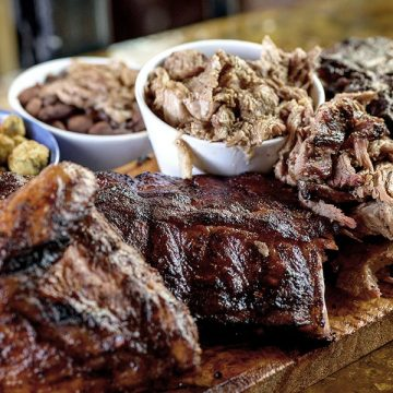 Family-Style Butcher's Block feast